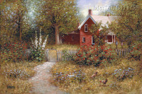 Country Pickins 24x36 LE Signed & Numbered - Giclee Canvas