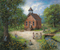 Old Schoolhouse 11x14 OE - Litho Print
