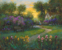 Garden Memory 11x14 LE Signed & Numbered - Giclee Canvas