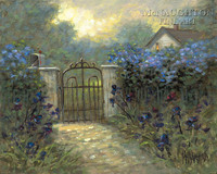 Iris Gate 12x16 LE Signed & Numbered - Giclee Canvas