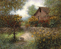 Mary's Garden 20x24 LE Signed & Numbered - Giclee Canvas