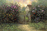 Rose Gate 20x24 LE Signed & Numbered - Giclee Canvas