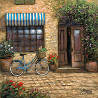Market Peddler 16x16 LE Signed & Numbered - Giclee Canvas