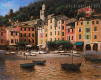 Portofino 16x20 LE Signed & Numbered - Giclee Canvas