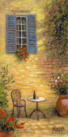 Table for One 12x24 LE Signed & Numbered - Giclee Canvas