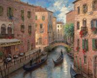 Venetian Memory 28x35 - Giclee Canvas