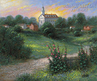 Kirtland Temple 20x24 LE Signed & Numbered - Giclee Canvas