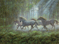 Runaways 24x36 LE Signed & Numbered - Giclee Canvas