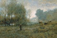 Along the River 20x30 LE Signed & Numbered - Giclee Canvas