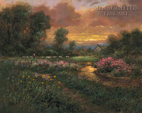Day's End 20x24 LE Signed & Numbered - Giclee Canvas