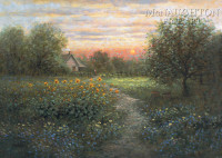 Evening Stillness 16x20 LE Signed & Numbered - Litho Print