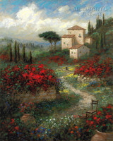 Colors of Tuscany 24x30 LE Signed & Numbered - Giclee Canvas