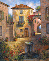 Tuscan Beauty 24x30 LE Signed & Numbered - Giclee Canvas