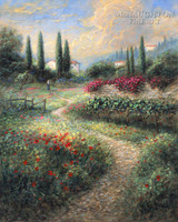 Tuscan Memory 20x24 LE Signed & Numbered - Giclee Canvas