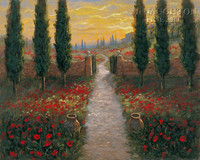 Tuscan Portal 11x14 LE Signed & Numbered - Giclee Canvas