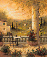 Tuscan View for One 24x30 LE Signed & Numbered - Giclee Canvas