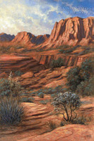 Canyon Shadows 16x20 LE Signed & Numbered - Giclee Canvas