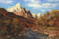 Color of Zion 24x36 LE Signed & Numbered - Giclee Canvas