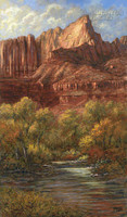 Doorway to Zion 28x48 LE Signed & Numvbered - Giclee Canvas