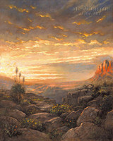 Golden Sky 24x30 LE Signed & Numbered - Giclee Canvas