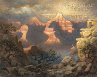 Grand Canyon Majesty 24x30 LE Signed & Numbered - Giclee Canvas