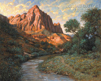 The Watchman 16x20 LE Signed & Numbered - Giclee Canvas