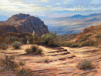 View of the Valley 24x30 LE Signed & Numbered - Giclee Canvas