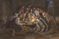 The Last Supper 24X36 LE (100) Giclee Canvas