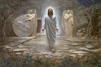 He Is Risen 16X24 Signed Litho