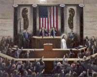 Separation of Church and State - Canvas Giclee, 24X30, S/N Limited Edition of 250