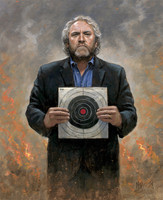 Andrew Breitbart - No Fear 16X20 Litho