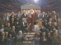 Justice for All - 26.25X35, Giclee Canvas, Limited Edition, 100 S/N