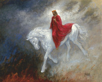 Second Coming of Christ - 24x30 Giclee Canvas