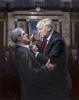 Expose the Truth - 20x24 Canvas Giclee, Limited Edition, S/N 200