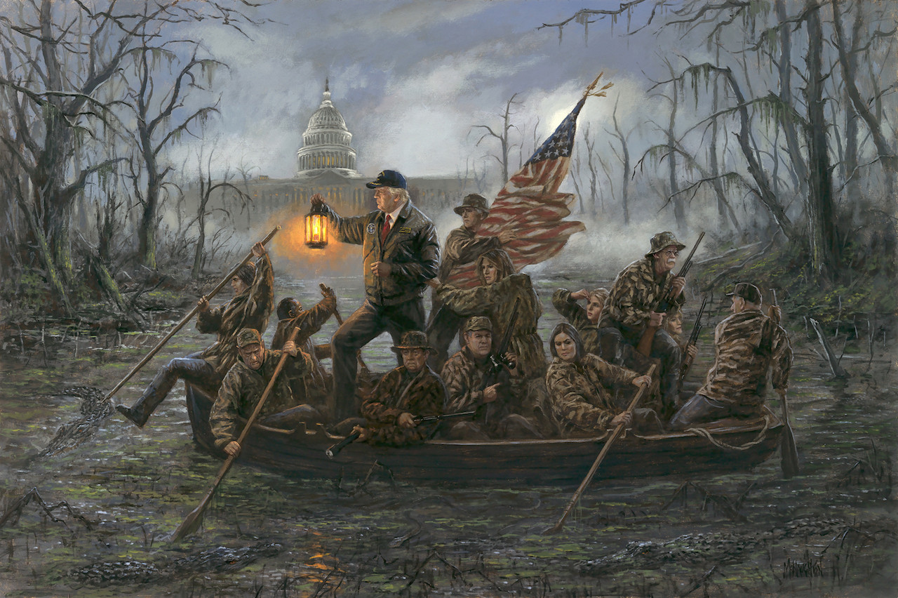 16x24 Unframed Litho Print National Emergency  by Jon McNaughton