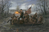 Crossing the Swamp - 16X24 Litho, Signed Open Edition