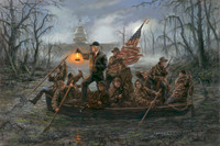 Crossing the Swamp - 20X30 inch Limited Edition Litho Print, Signed and Numbered (6000)