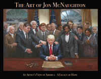 """Pre-Order"" McNaughton Art Book ""The Art of Jon McNaughton - An Artist's View of America - A Legacy of Hope"" Signed by Artist"