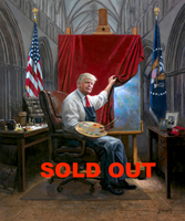 The Masterpiece - 20x24 Canvas Giclee, Limited Edition, S/N 200 SOLD OUT