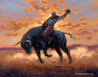 2020 Ride - 16X20 Canvas Giclee, Limited Edition, S/N Edition 200