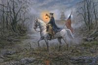 Light of Liberty - 24x36 Canvas Giclee Print, Limited Edition, Signed (200)