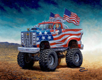 Keep on Trumpin' - 24x30 Giclee Canvas Print, Signed and Numbered Edition (100)