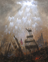 Angels of 9/11 - 11x14 Limited Edition Litho Print - Signed and Numbered (200)