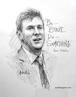 James O'Keefe Sketch Original