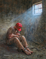 Solitary Confinement - 16x20 Giclee Canvas Print, Signed and Numbered Edition (100)
