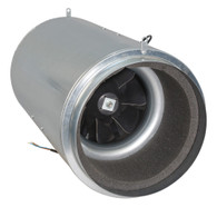 Isomax 250mm Acoustic Inline Tube Fan (1500 M3/hr)