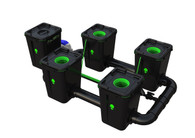 Alien Hydroponics 4 Pot  RDWC Pro 55 litre 75cm centres