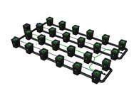 Alien Hydroponics 24 Pot  RDWC Pro 55 litre 100cm centres