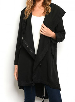 Black- Waterfall Jacket