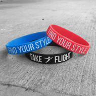 Find Your Style Rubber Wristband